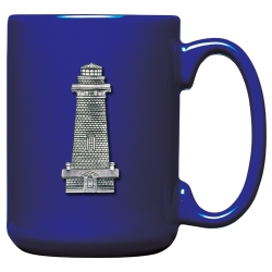Lighthouse Cobalt Coffee Cup