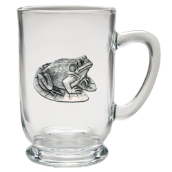 Frog Clear Coffee Cup