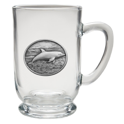 Dolphin Clear Coffee Cup