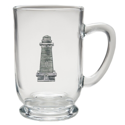 Lighthouse Clear Coffee Cup