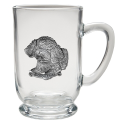 Bichon Frise Clear Coffee Cup