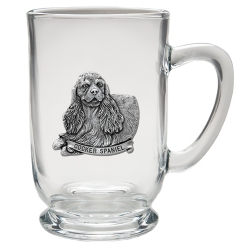 Cocker Spaniel Clear Coffee Cup