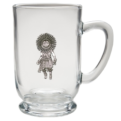 Sun Kachina Clear Coffee Cup
