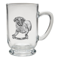 Jack Russell Clear Coffee Cup