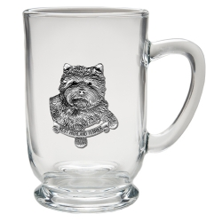 West Highland Terrier Clear Coffee Cup