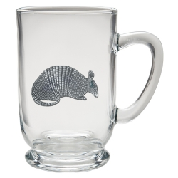 Armadillo Clear Coffee Cup