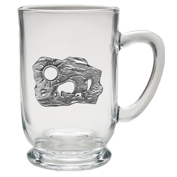 Buffalo Sun Clear Coffee Cup