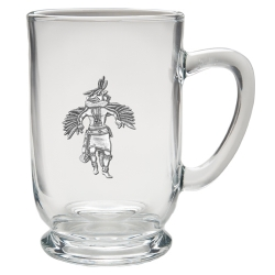 Eagle Kachina Clear Coffee Cup