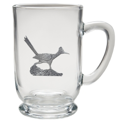Road Runner Clear Coffee Cup