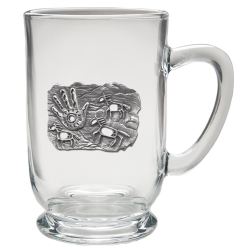 Spirit Pony Clear Coffee Cup
