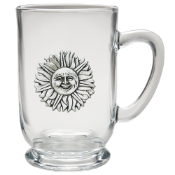 Sunface Clear Coffee Cup