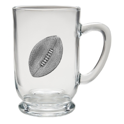 Football Clear Coffee Cup
