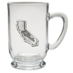 California Clear Coffee Cup