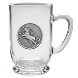 Unicorn Clear Coffee Cup