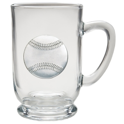 Baseball Clear Coffee Cup