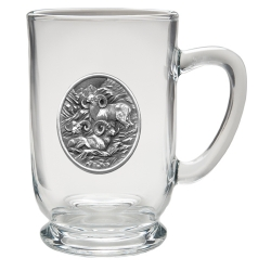 Bighorn Sheep Clear Coffee Cup #2