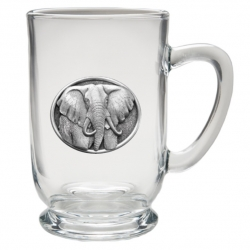Elephant Clear Coffee Cup #2