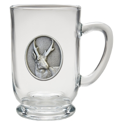 Antelope Clear Coffee Cup