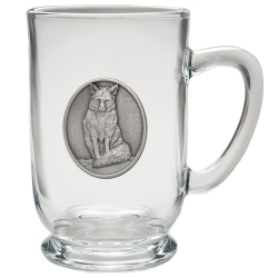 Fox Clear Coffee Cup