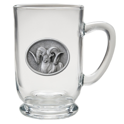Chadwick Ram Clear Coffee Cup