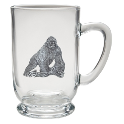 Gorilla Clear Coffee Cup