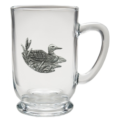 Loon Clear Coffee Cup