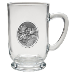 Moose Clear Coffee Cup