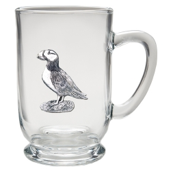 Puffin Clear Coffee Cup