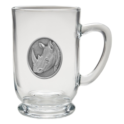 Rhino Clear Coffee Cup