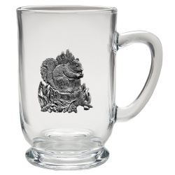 Squirrel Clear Coffee Cup