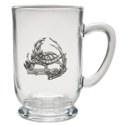 Turtle Clear Coffee Cup