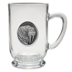 Walrus Clear Coffee Cup