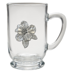 Apple Blossom Clear Coffee Cup