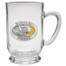 University of Missouri Clear Coffee Cup - Enameled