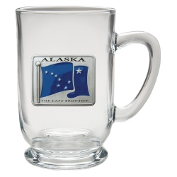 Alaska Clear Coffee Cup - Enameled
