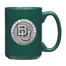 Baylor University Green Coffee Cup