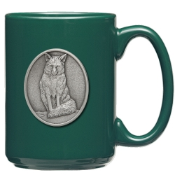 Fox Green Coffee Cup