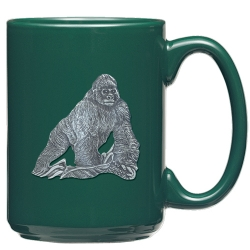 Gorilla Green Coffee Cup