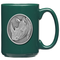 Rhino Green Coffee Cup