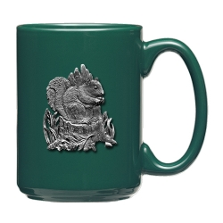 Squirrel Green Coffee Cup