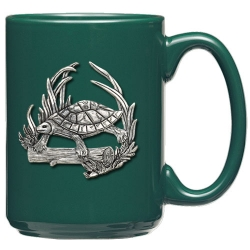 Turtle Green Coffee Cup