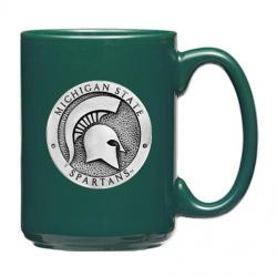 Michigan State University Green Coffee Cup
