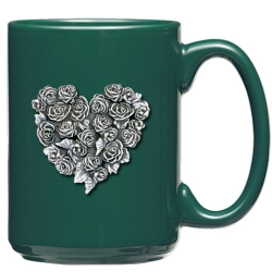 Rooster Green Coffee Cup