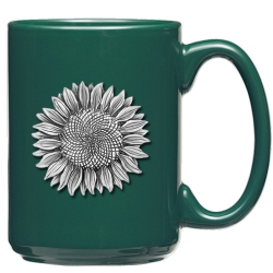 Sunflower Green Coffee Cup