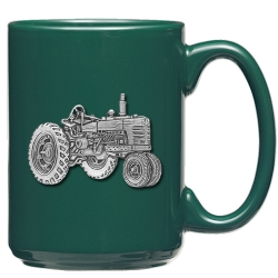 Tractor Green Coffee Cup