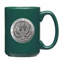 Army Green Coffee Cup