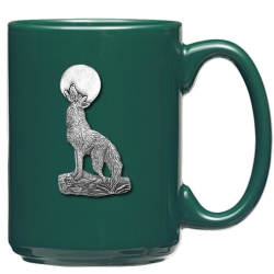 Coyote Green Coffee Cup