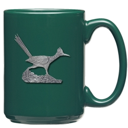 Road Runner Green Coffee Cup
