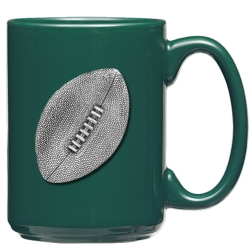 Football Green Coffee Cup