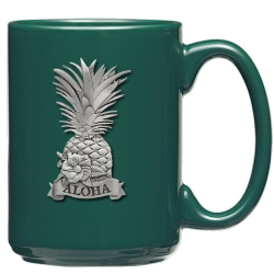 Hawaii Green Coffee Cup